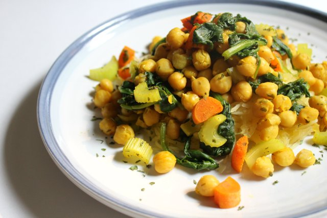 Spiced Chickpeas 1