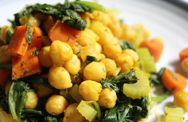 Spiced Chickpeas 2