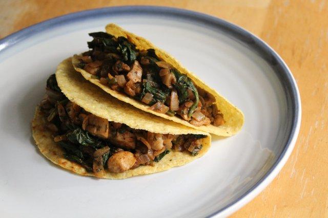 Savory Pumpkin Lentil Tacos