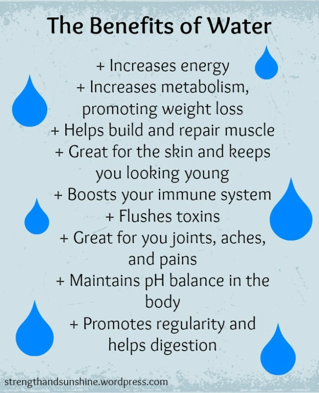 The Benefits of Water