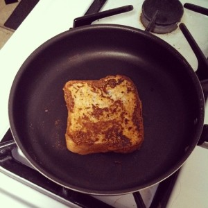 Pumpkin Peanut French Toast
