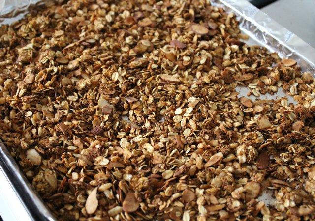 Pumpkin Spice Granola 8