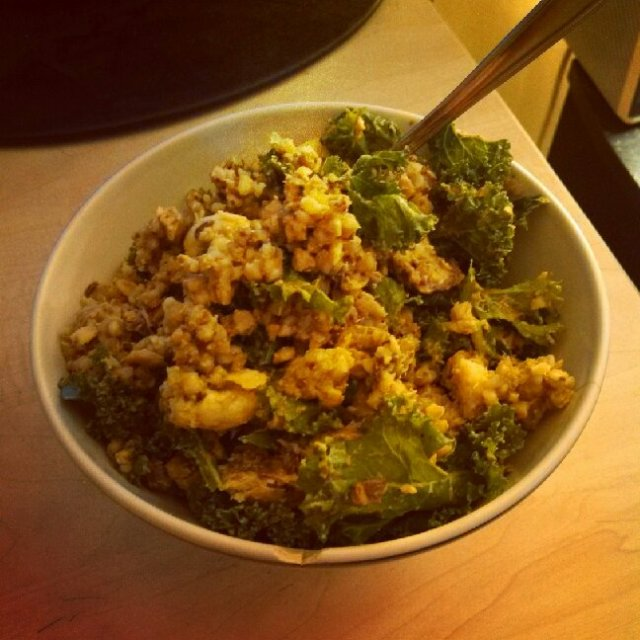 Sardine Buckwheat Bowl