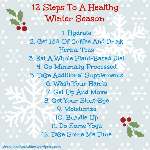 12 Steps To A Healthy Winter Season