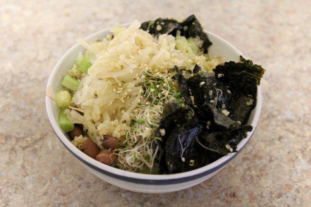 Macrobiotic Sushi Bowl 1