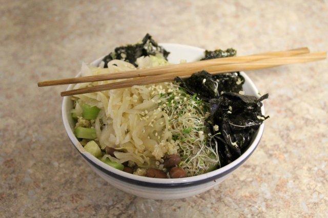 Macrobiotic Sushi Bowl 2