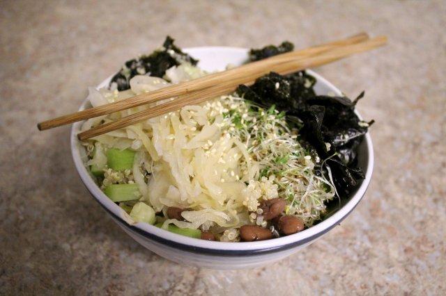Macrobiotic Sushi Bowl 3