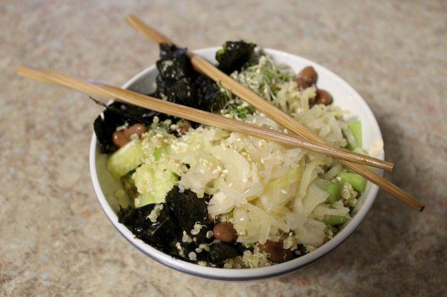 Macrobiotic Sushi Bowl 4