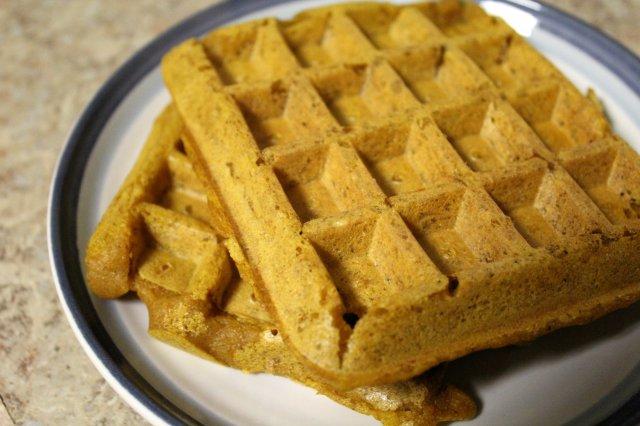 Pumpkin Waffles 1