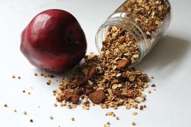Apple Cinnamon Granola 9