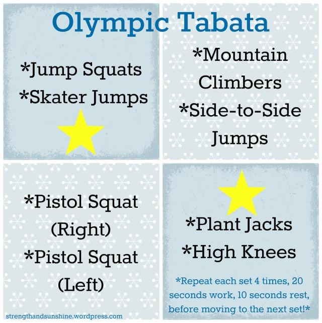 Olympic Tabata