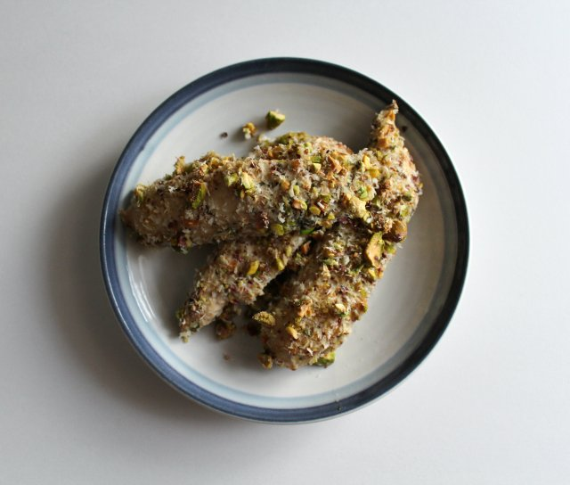 Pistachio Encrusted Coconut Lime Chicken 3