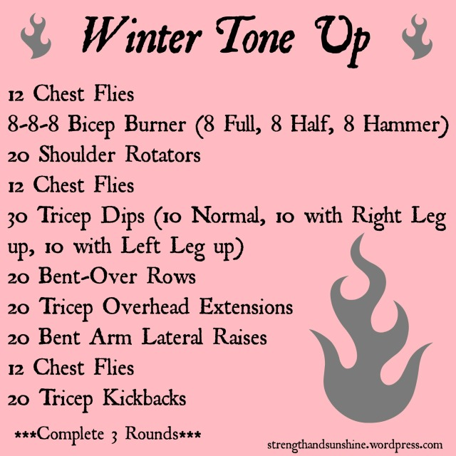 Winter Tone Up