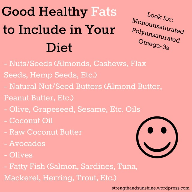 Good Healthy Fats   Strength and Sunshine