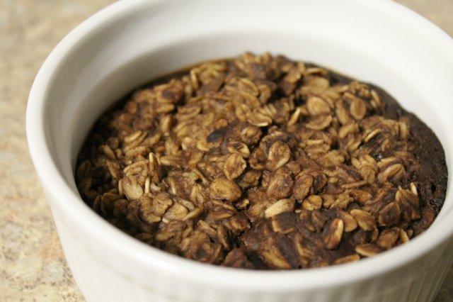 Hazelnut Mocha Baked Oatmeal 5