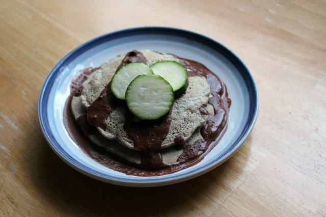 Zucchini Buckwheat Peanut Pancakes 2