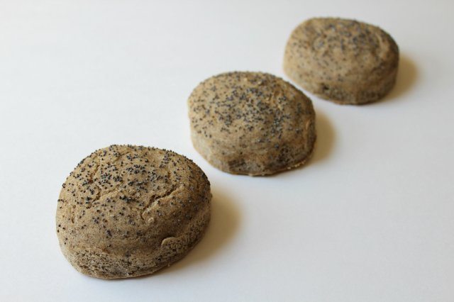 Buckwheat English Muffin Buns 1