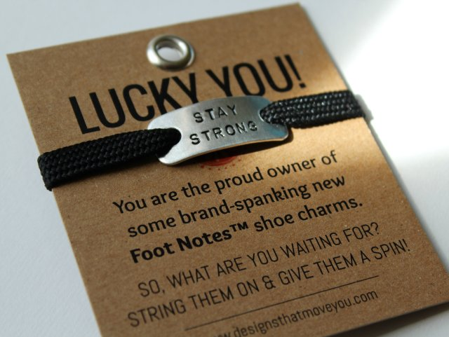 Foot Notes Charm