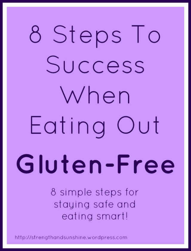 Eating Out Gluten-Free