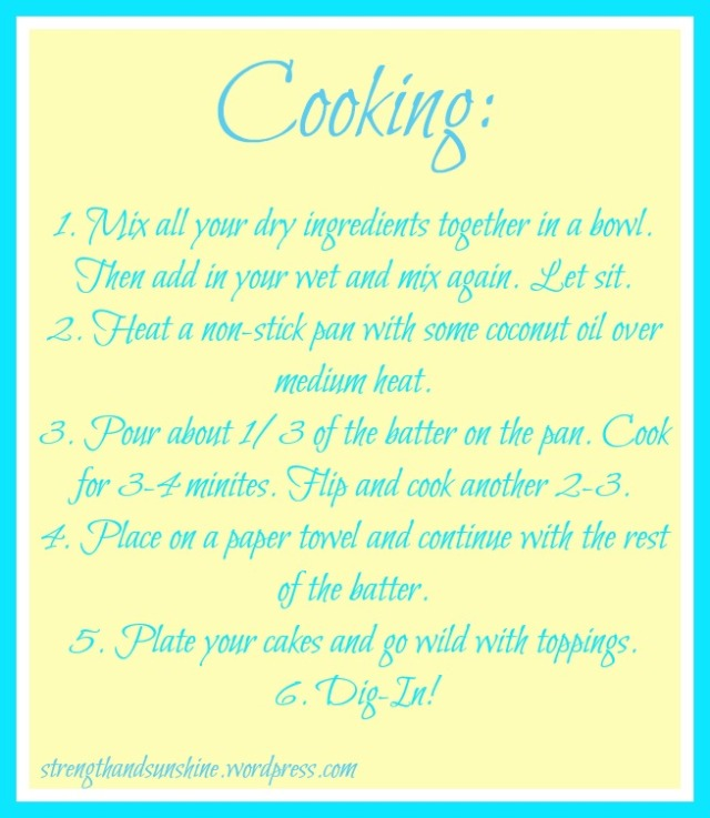 How-To: Pancakes For One