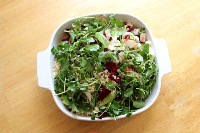 Fresh Spring Millet Salad 2