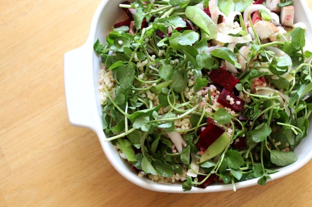 Fresh Spring Millet Salad 3