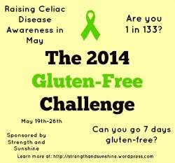 2014 Gluten-Free Challenge