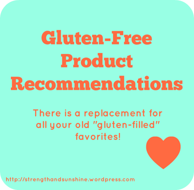 Gluten-Free Product Recommendations  Strength and Sunshine