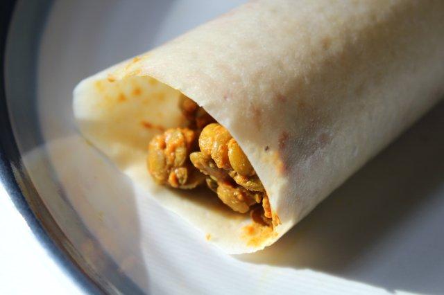 Lentil Paleo Wrap Burrito 1