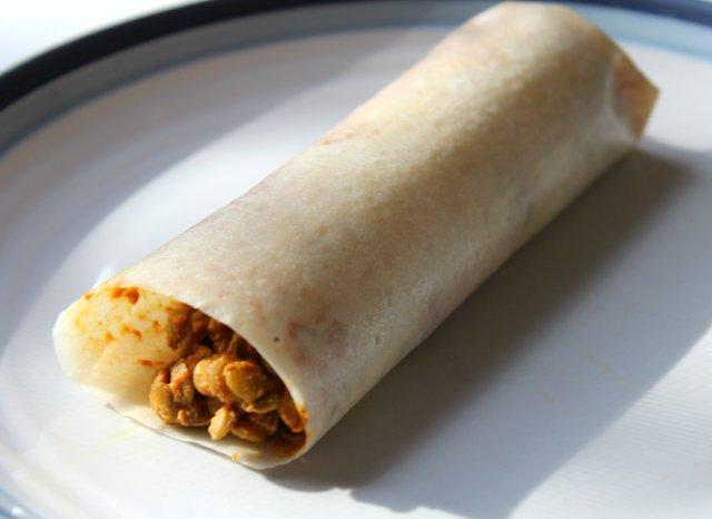 Lentil Paleo Wrap Burrito   Strength and Sunshine