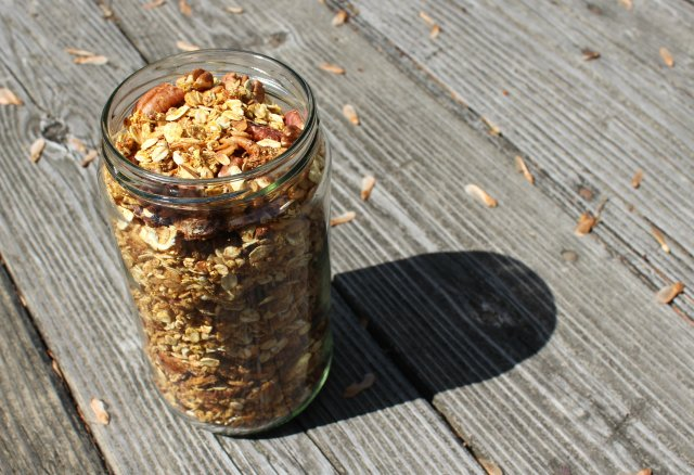 More Than Carrot Cake Granola | Strength and Sunshine