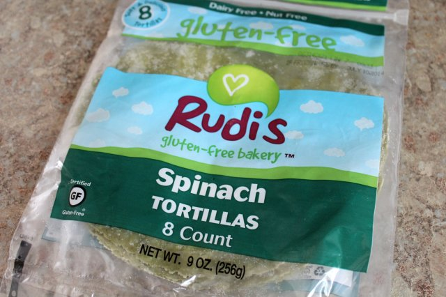 Rudi's Spinach Tortillas 1