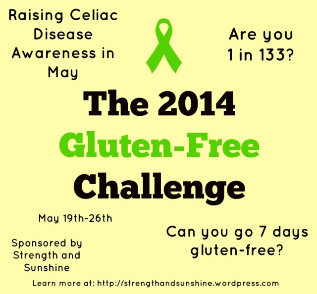 The 2014 Gluten-Free Challenge
