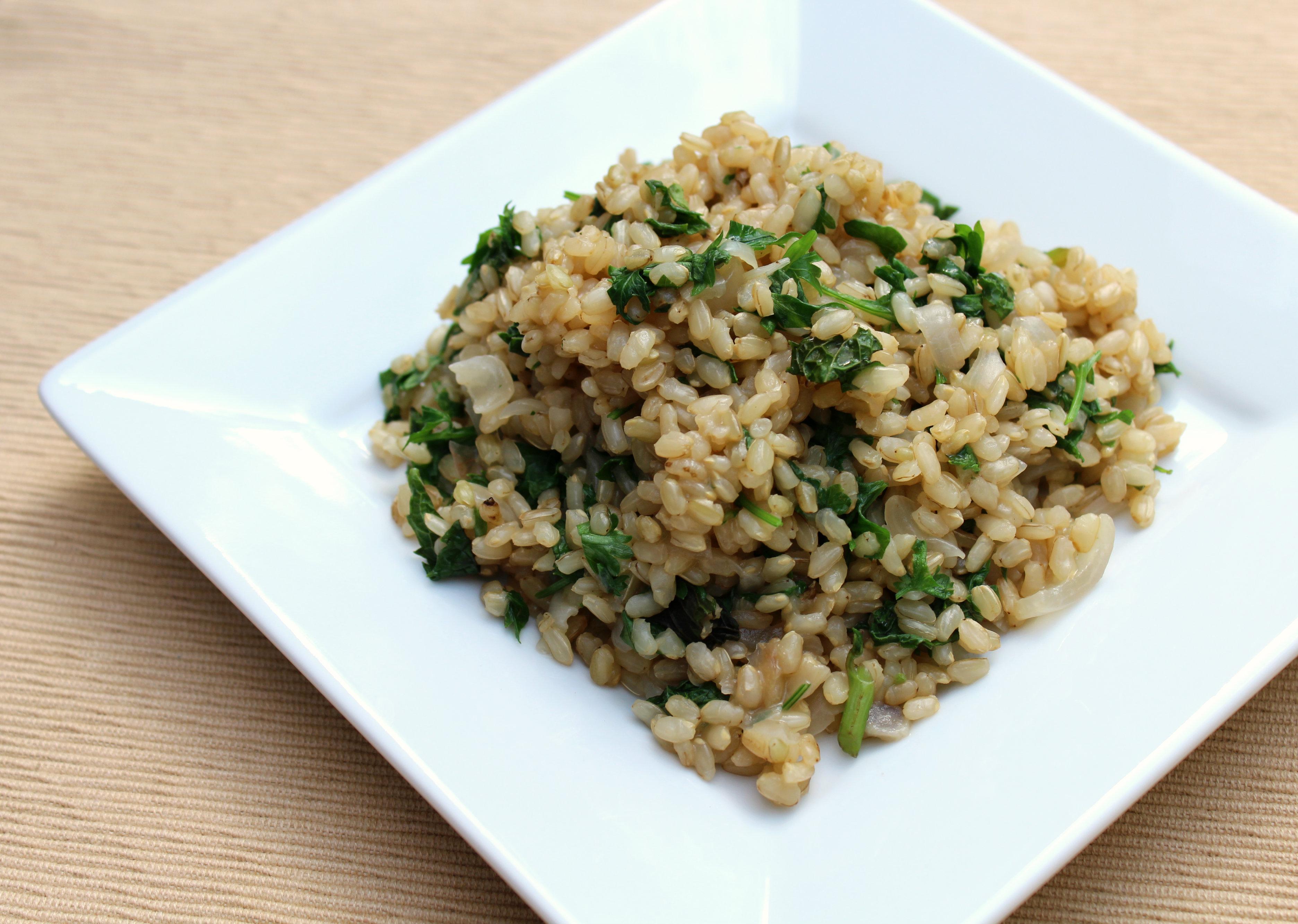 Aromatic Jasmine Herb Brown Rice | Strength and Sunshine