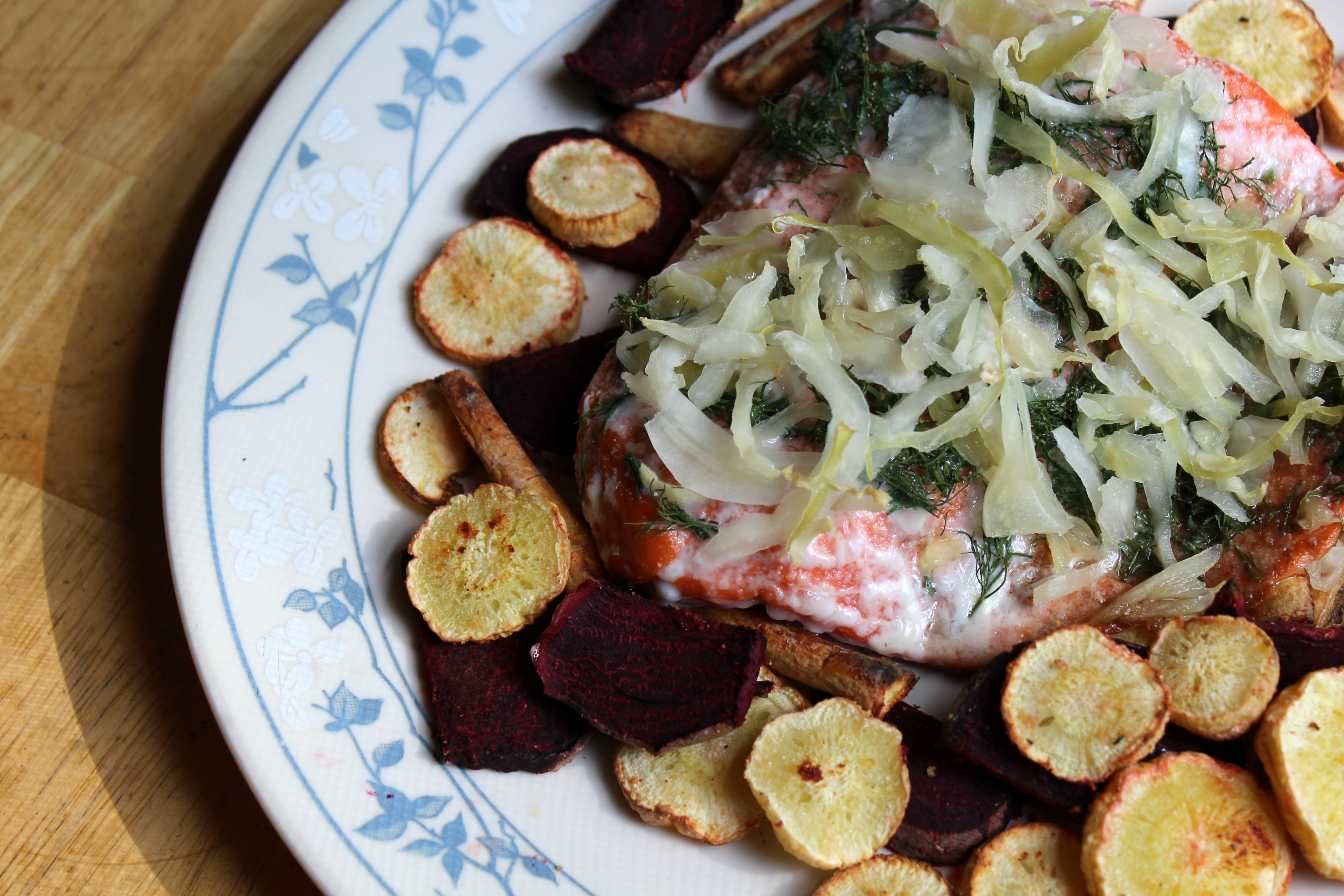 Dill Saurkrout Salmon | Strength and Sunshine