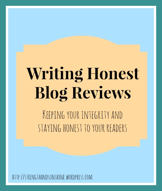 Writing Honest Blog Reviews