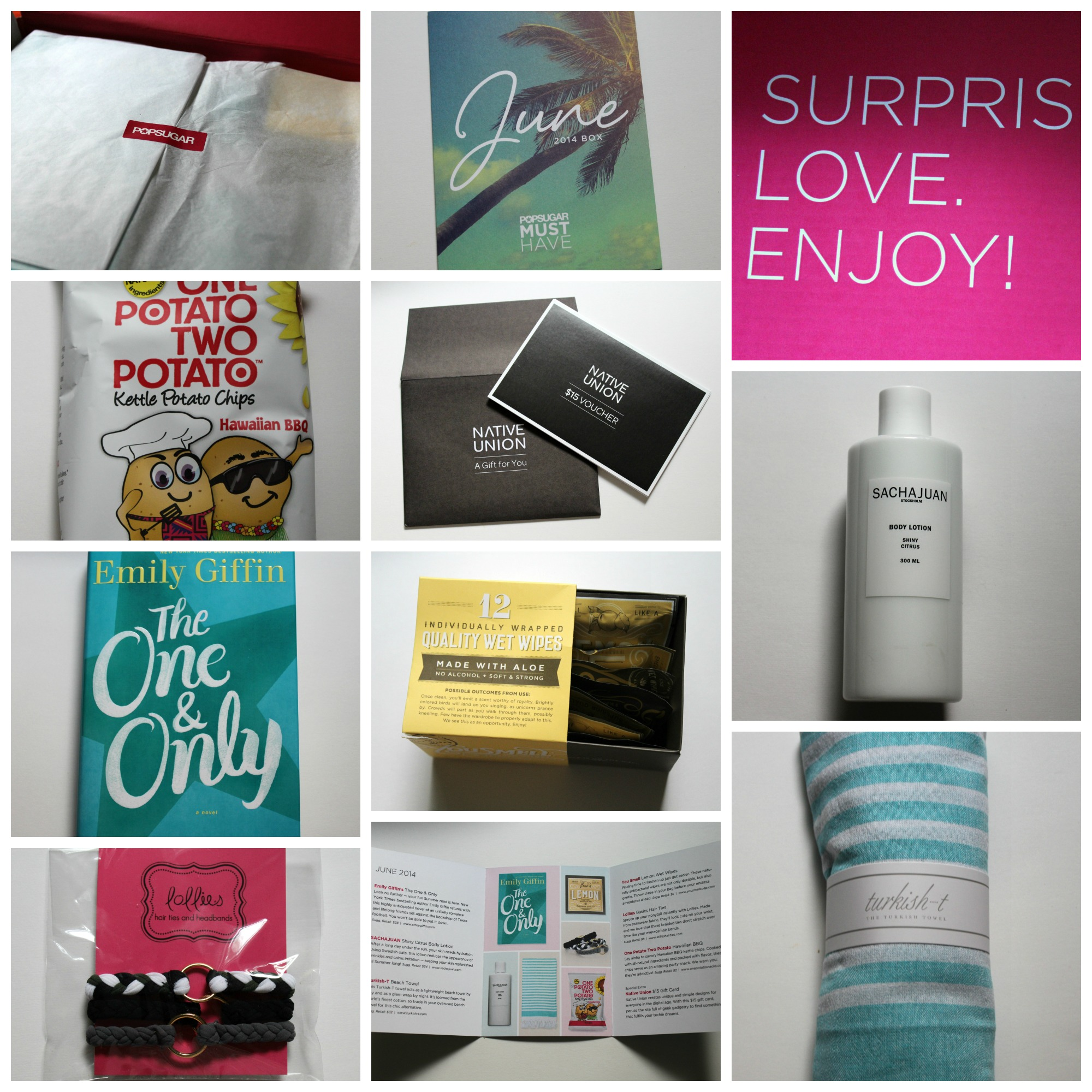 POPSUGAR June Must Have Box