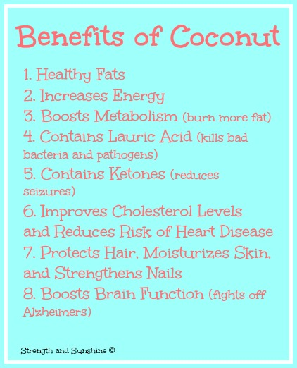 Benefits of Coconut | Strength and Sunshine