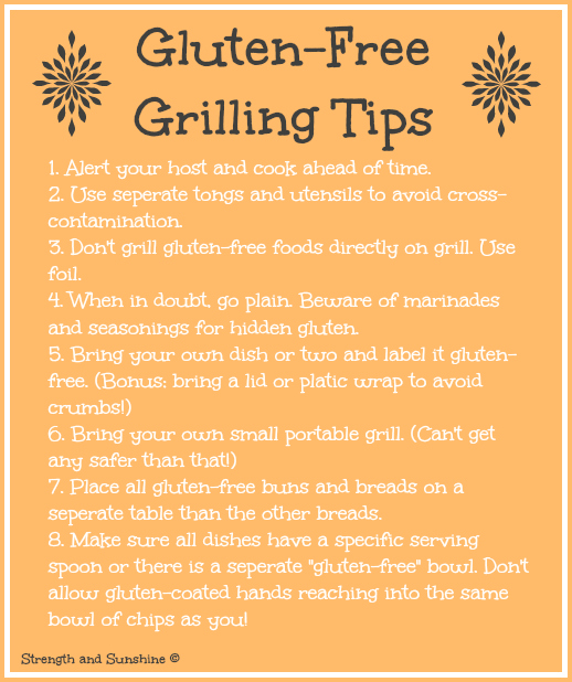 Gluten-Free Grilling Tips | Strength and Sunshine