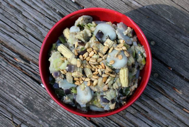 Sunflower Asian Eggplant   Strength and Sunshine