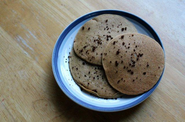 Vanilla Latte Millet Protein Pancakes | Strength and Sunshine