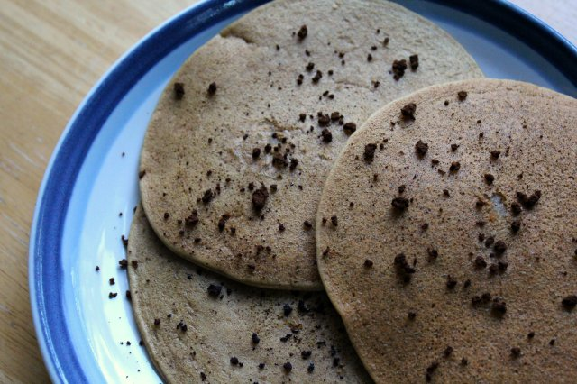 Vanilla Latte Millet Protein Pancakes | Strength and Sunshine