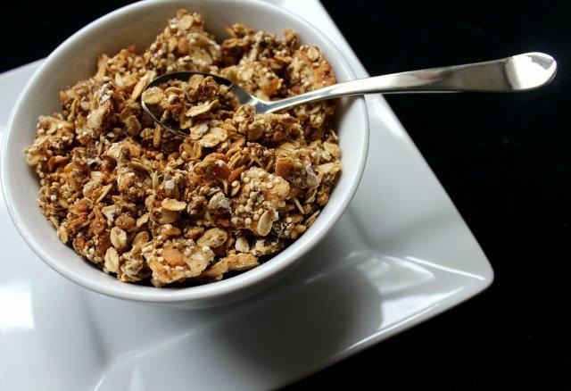 Vanilla Pear Quinoa Granola   Strength and Sunshine