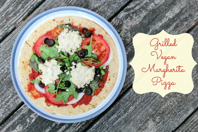 Grilled Vegan Margherita Pizza | Strength and Sunshine