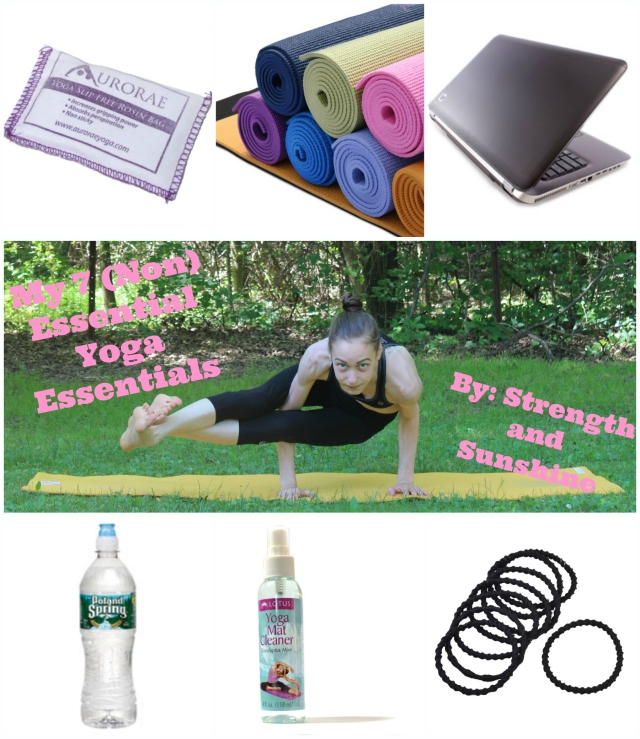 My 7 (Non)Essential Yoga Essentials | Strength and Sunshine